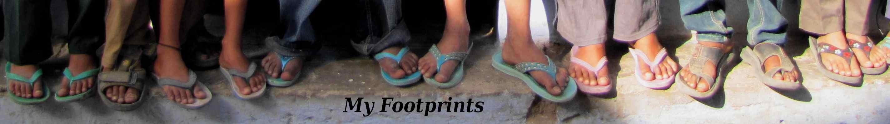 My Footprints Logo