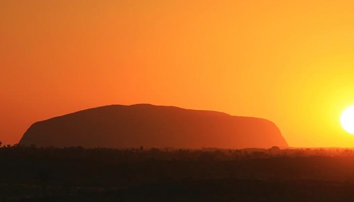 Ayers Rock Australië