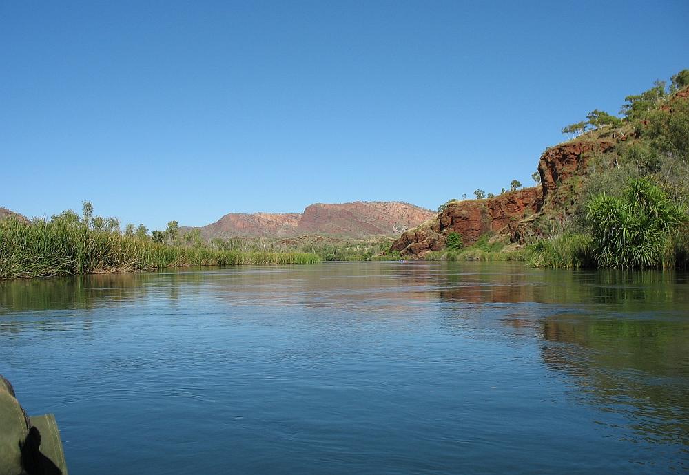 kanotocht Ord Rivier, Australië