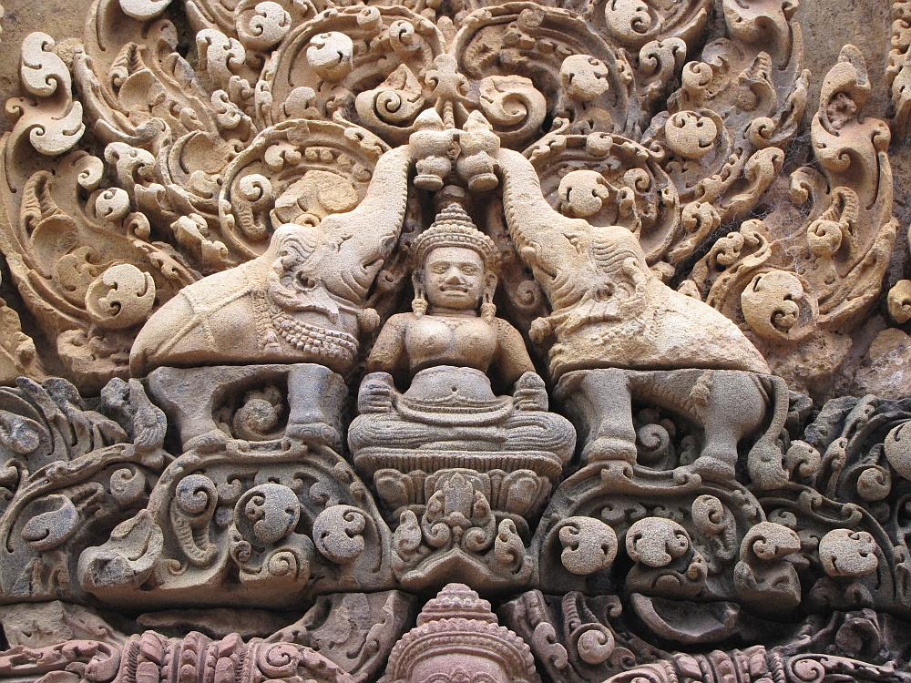 Bantey Srei Angkor Cambodja