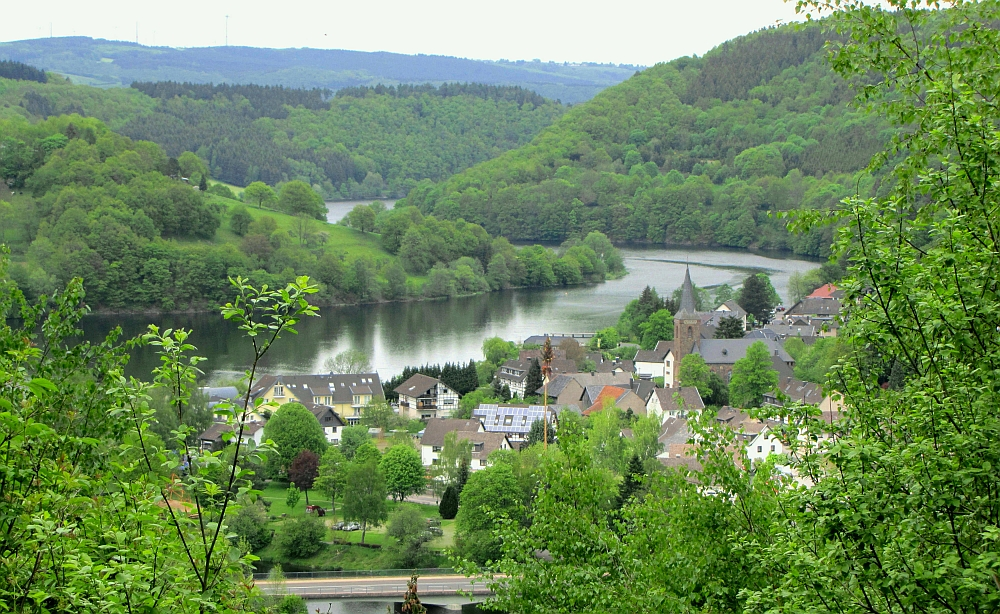 Wandelen bij Monschau de Eifelsteig etappe 3