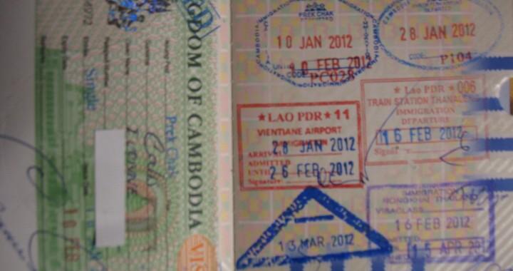 visum voor Myanmar