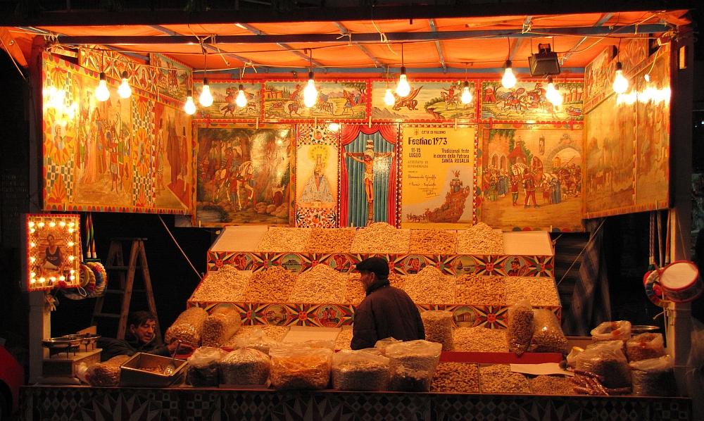 twee weken op Sicilië markt Monreale