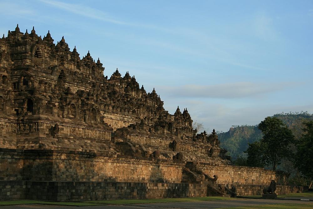 mooiste tempels van Zuidoost Azië Borobudur bij yogyakarta