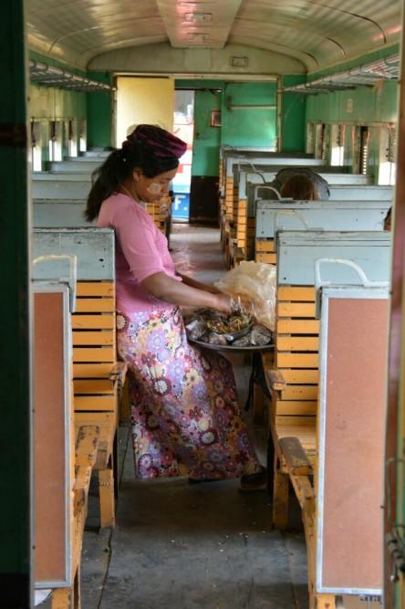 trein Hsipaw naar Mandalay