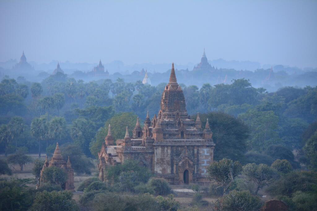 mooiste tempels van Zuidoost Azië Bagan Myanmar