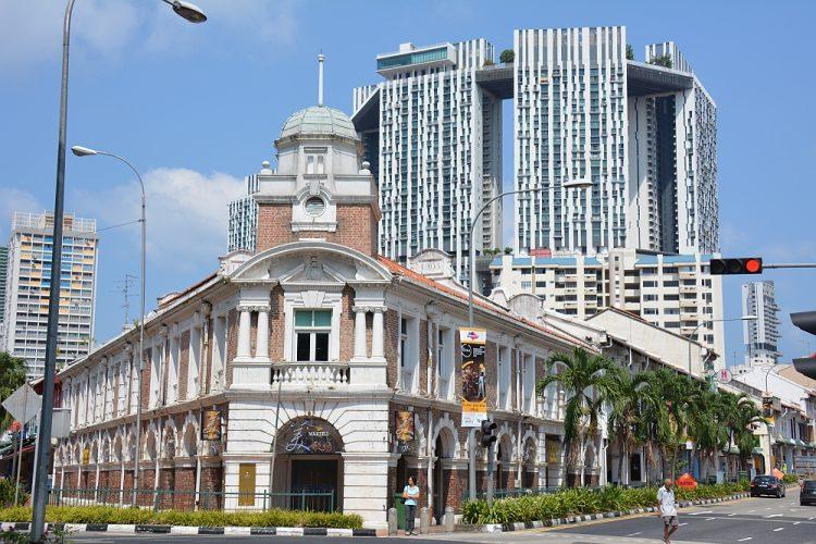 Oud en nieuw in Singapore