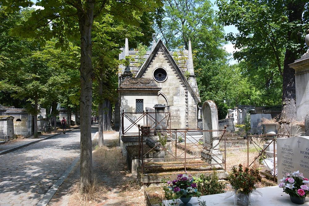 kerkhof Père Lachaise Parijs