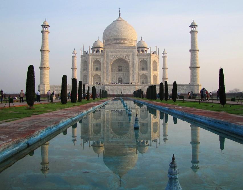 route door Rajasthan de Taj Mahal Agra
