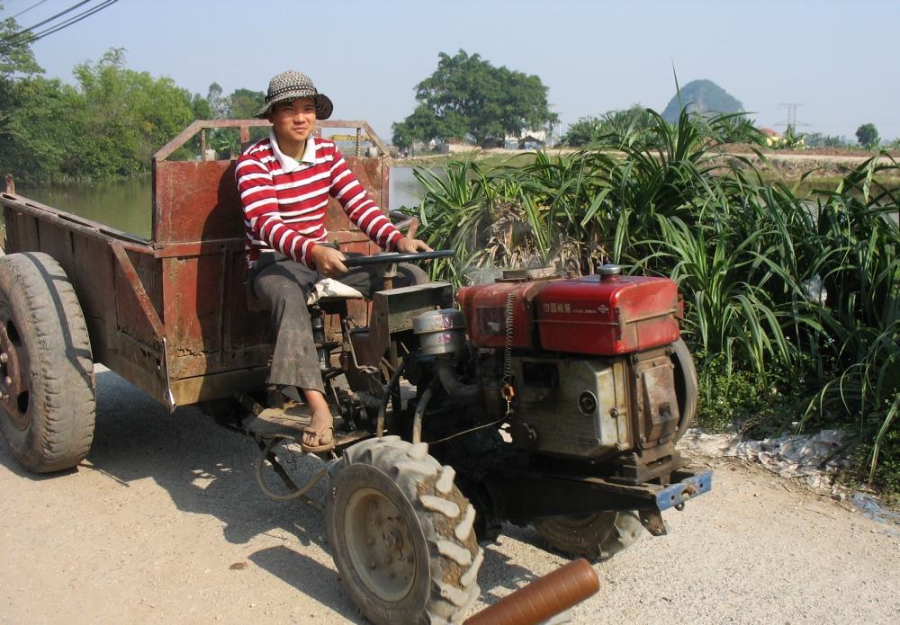 fietstocht langs de karstbergen van Ninh Binh1