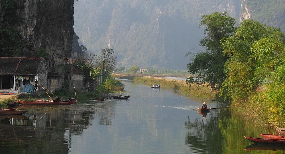 fietstocht langs de karstbergen van Ninh Binh7