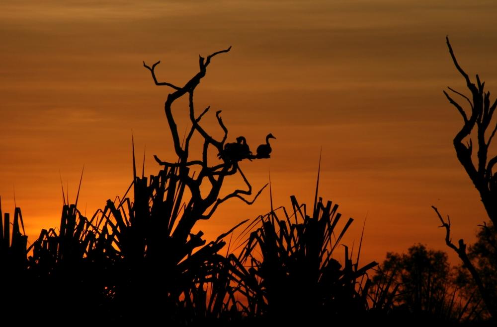 kakadu national park zonsondergang