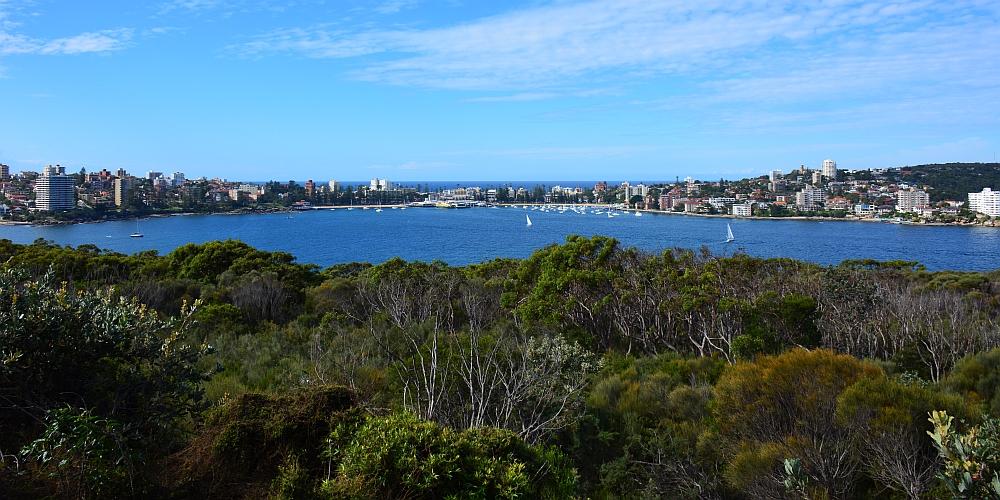 wandelen op de route van Sydney naar Brisbane