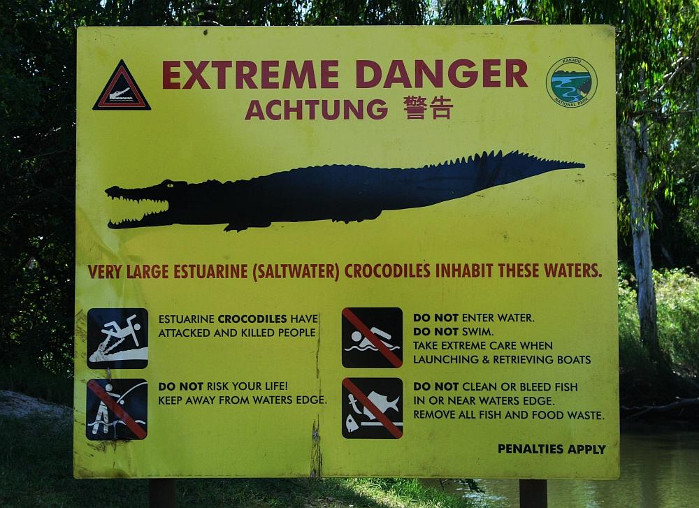 wildlife Australië krokodillen