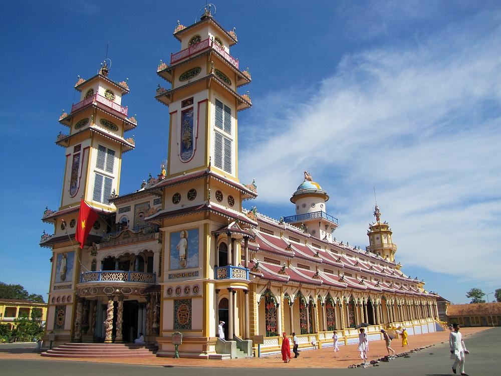 Cao Dai tempel Vietnam