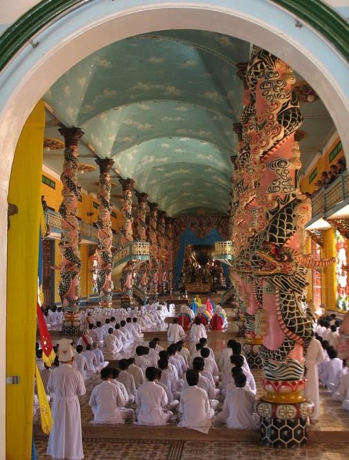 Cao Dai tempel2