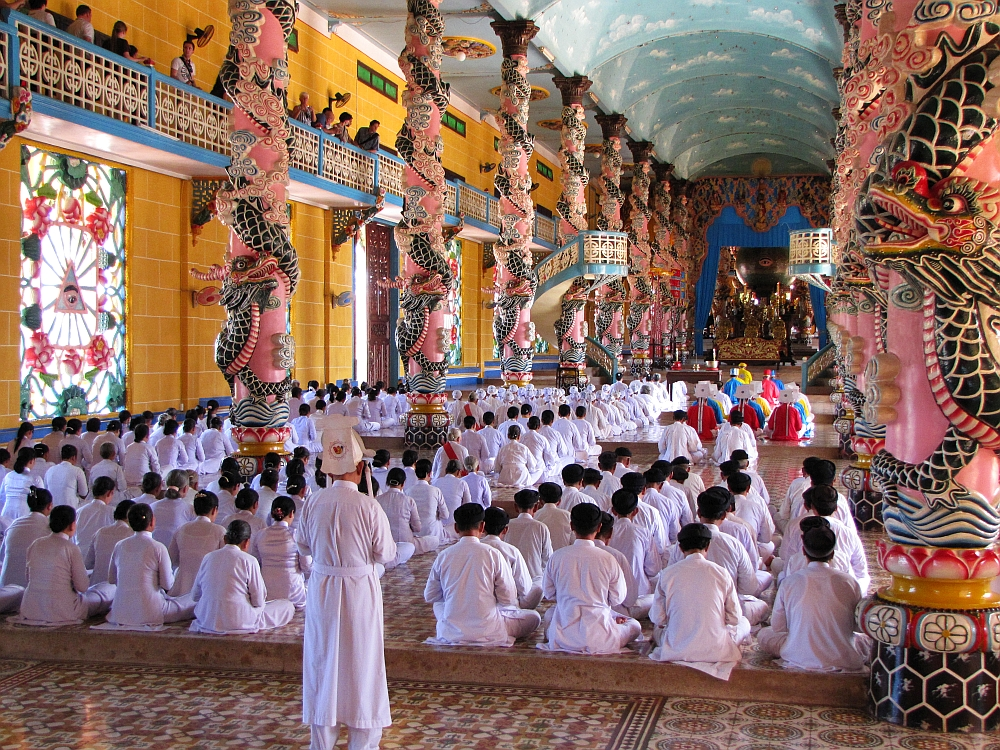 Cao Dai tempel3