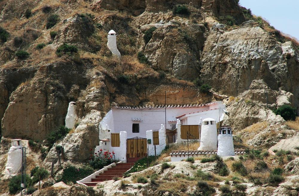 grotwoningen in Guadix1