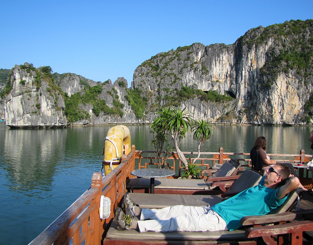 boottocht Halong Bay