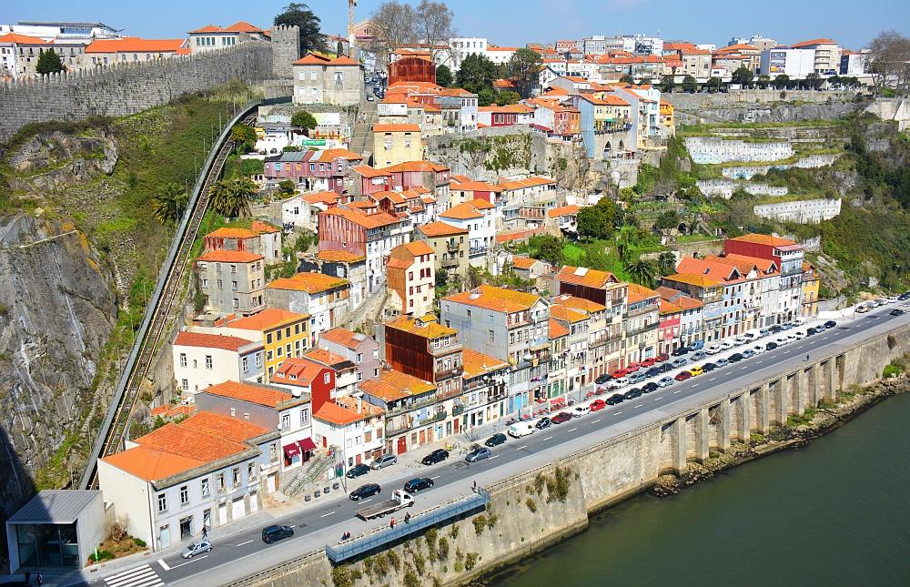 porto vanaf brug
