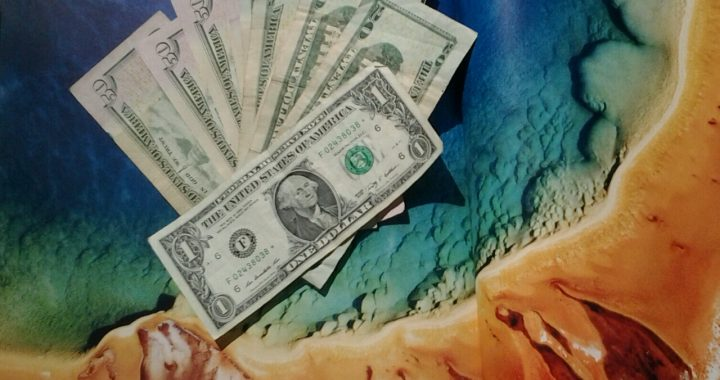 De kosten van een reis door west Amerika