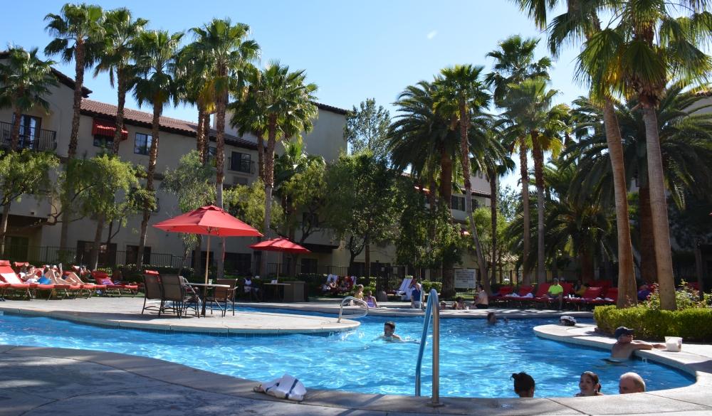 buitenzwembad Tuscany Suites Las Vegas