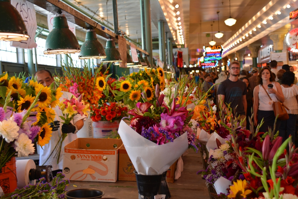 city guide voor Seattle Pike Place Market