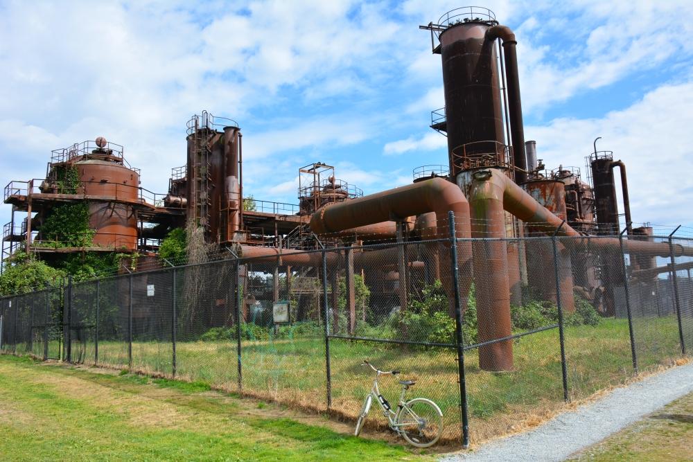 citytrip seattle Gas Works