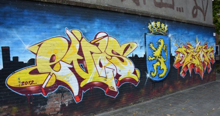streetart en graffiti in Leeuwarden