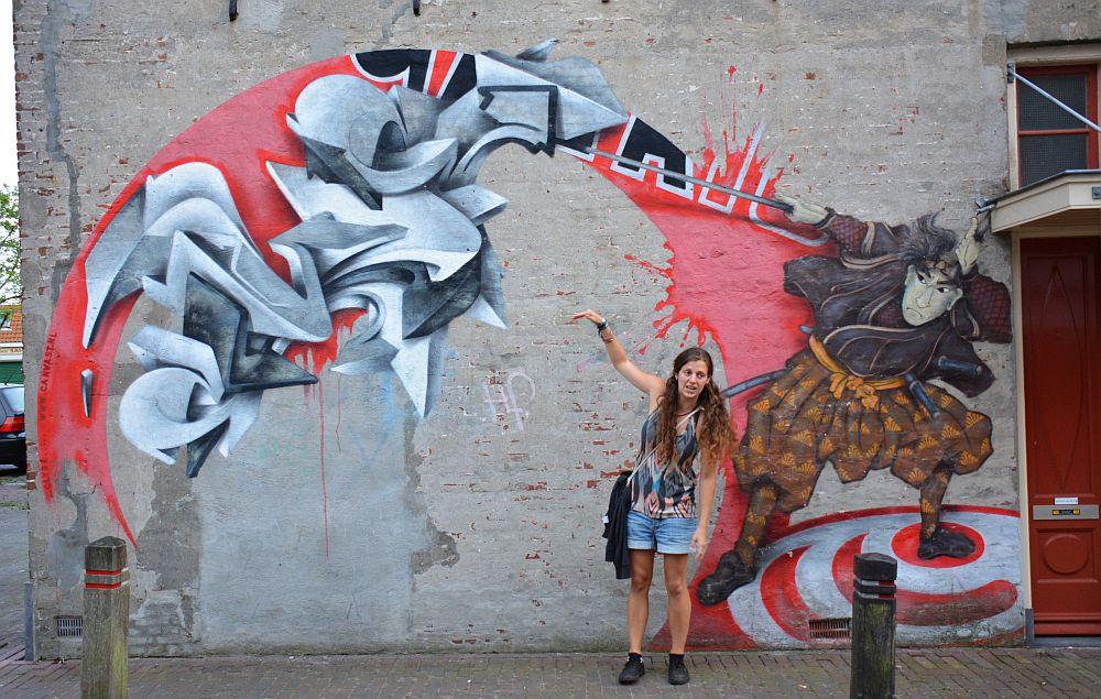 street art Leeuwarden