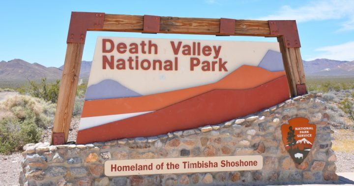 hoogtepunten van Death Valley
