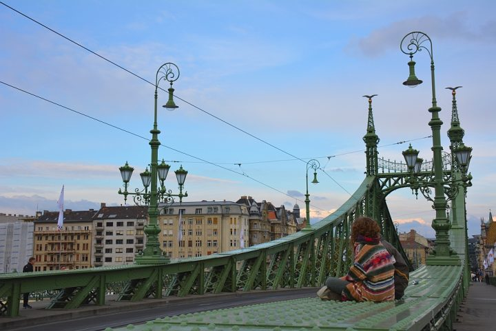 weekend Boedapest vrijheidsbrug