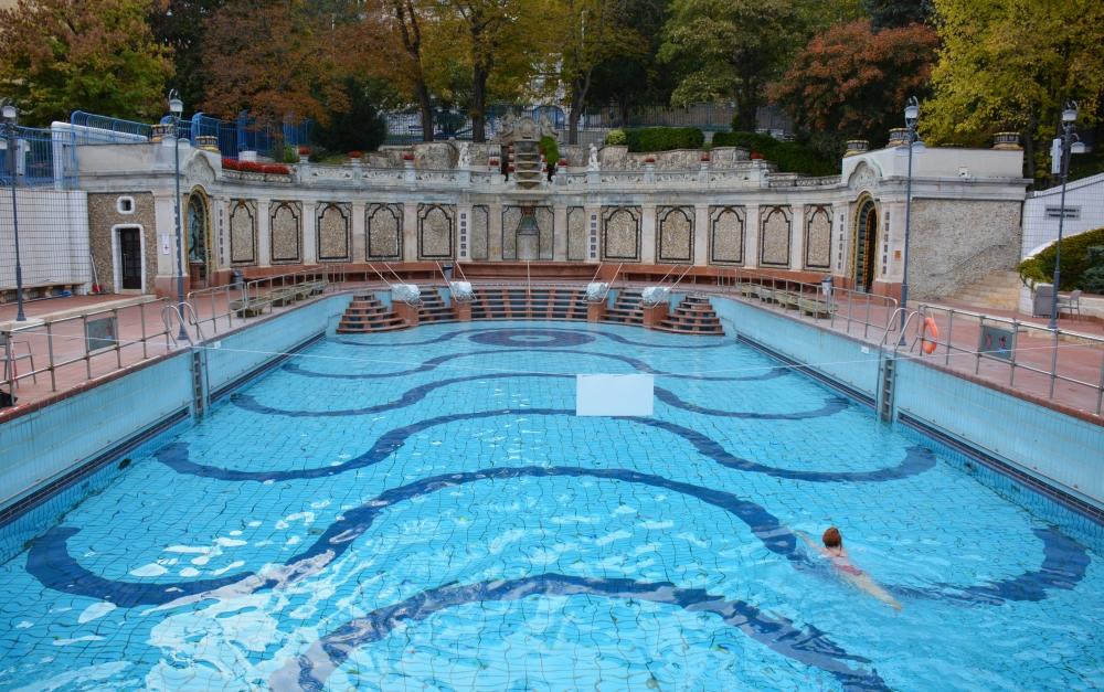 zwembad Gellert Boedapest