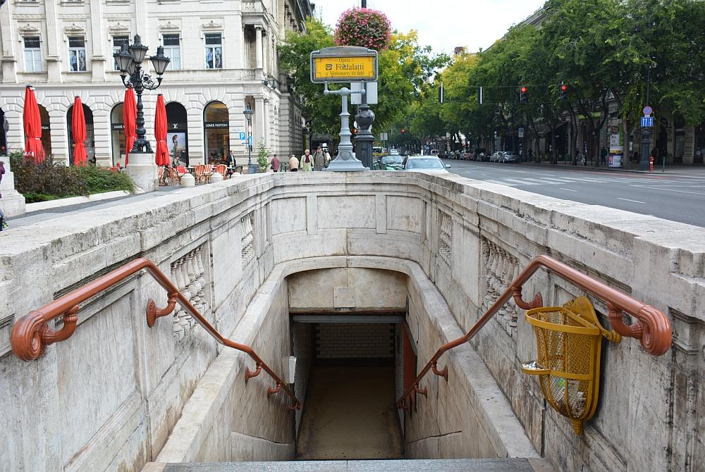weekend Boedapest metro Boedapest