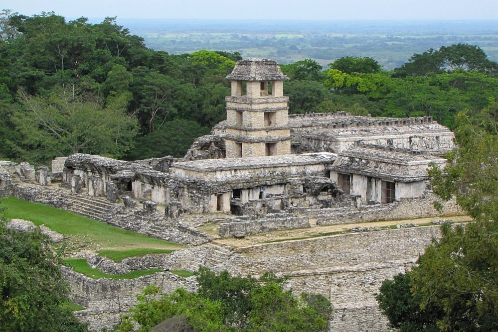 mooiste tempels van Mexico palengue