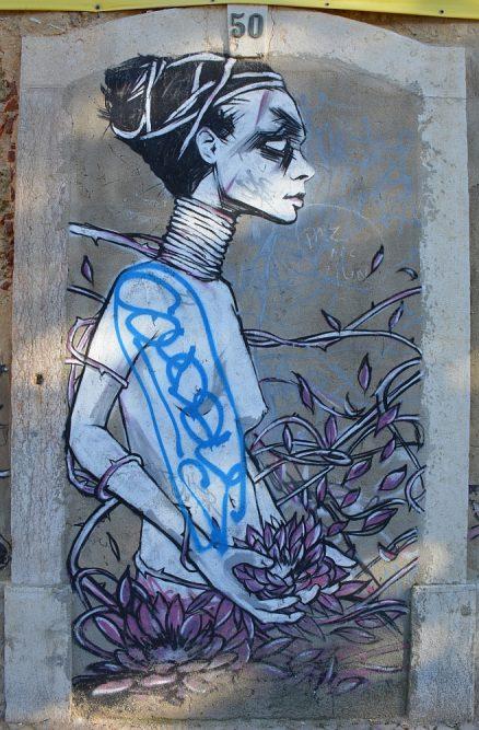 streetart van Lissabon