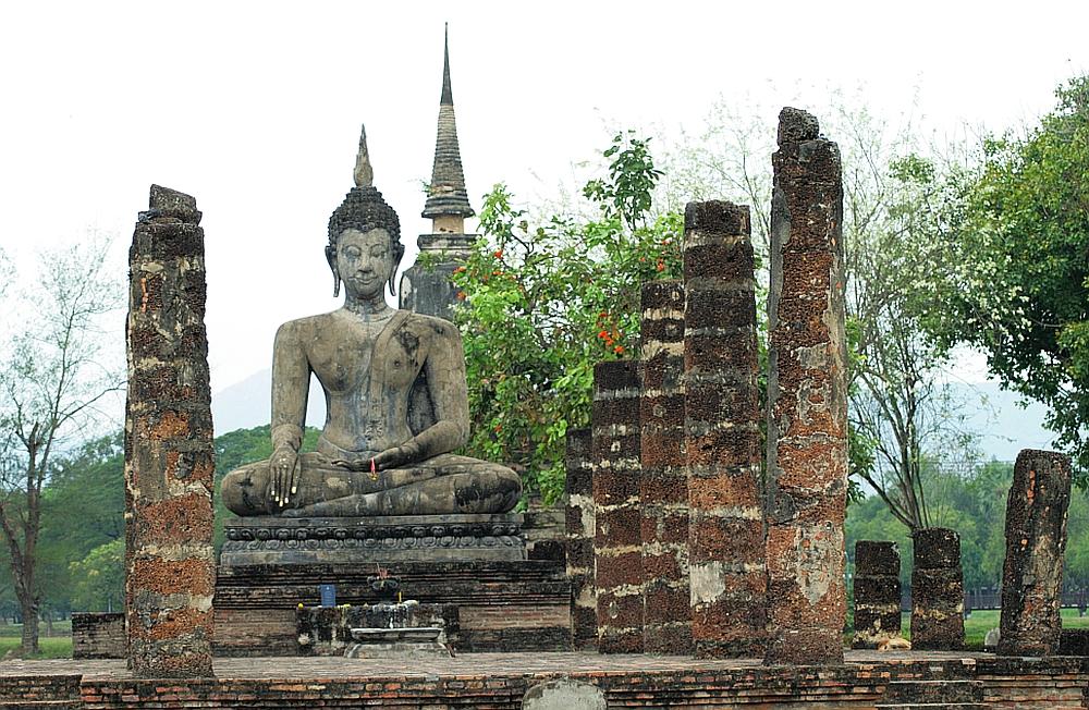 tempel sukothai mooiste tempels van Zuidoost Azië