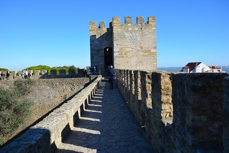 Castelo de S. Jorge Lissabon