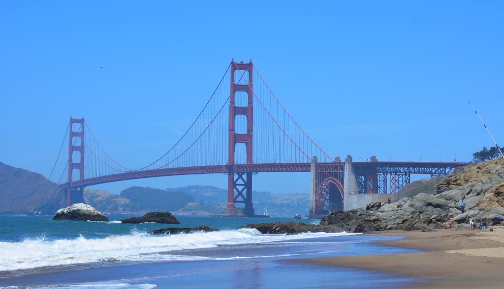 fietsen door San Francisco