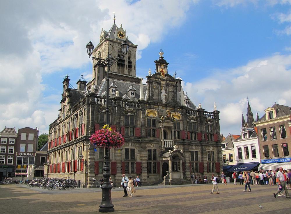 citytrip Delft stadhuis
