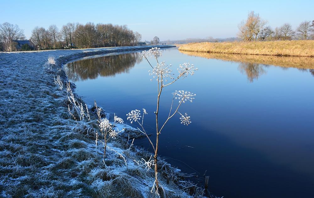 winterfoto Dommel Brabant