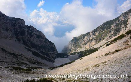 bergwandeling bij het Gardameer