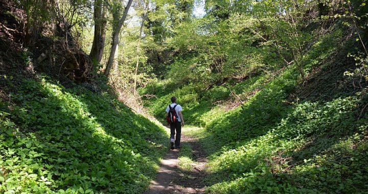Trage tocht Gulpen starten met wandelen