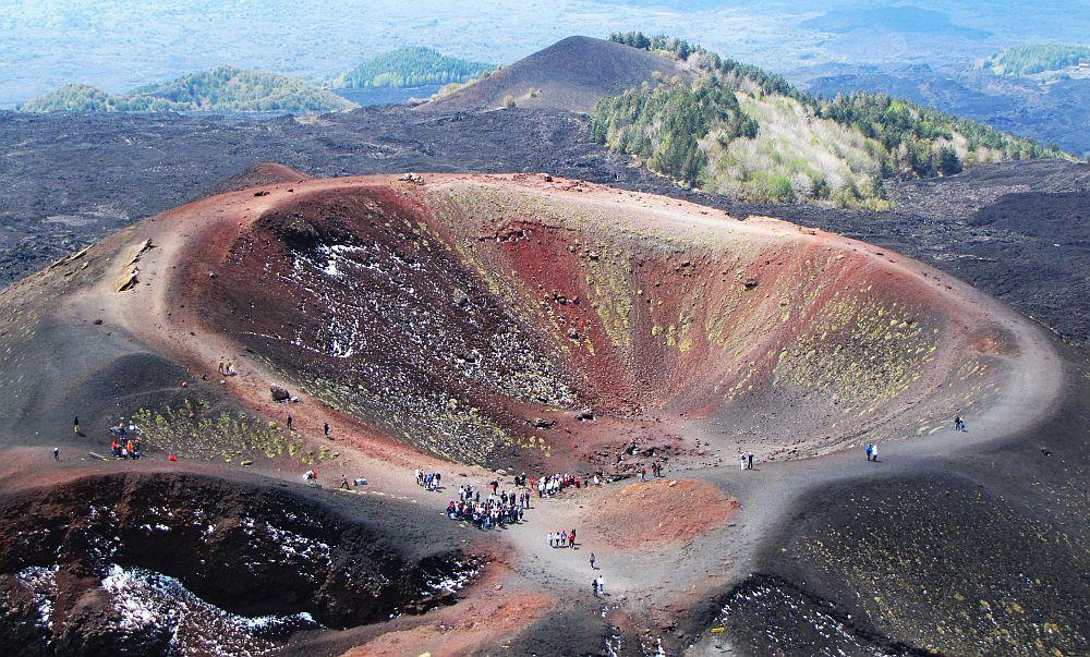 de leukste Europese eilanden, de Silvestri krater