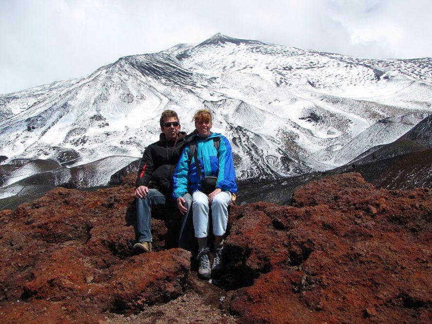 Etna vulkaan, mooiste camperroutes in Europa
