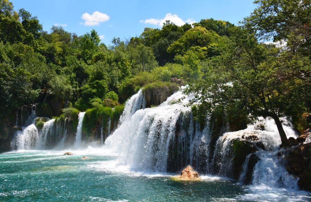 Krka Nationaal Park watervallen