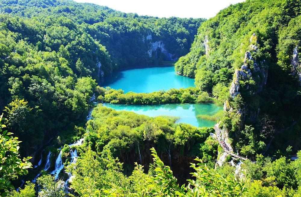 camperroutes in Europa Plitvice meren Kroatië