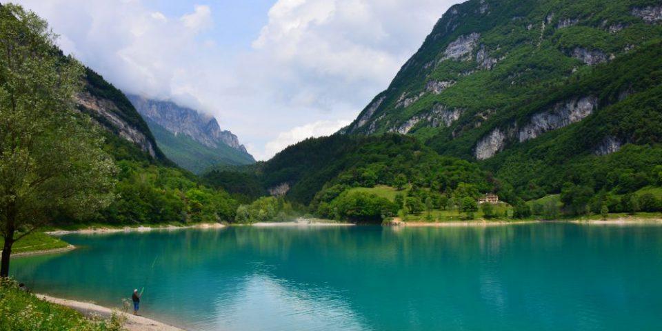 het noorden van het Gardameer, Lago di Tenno