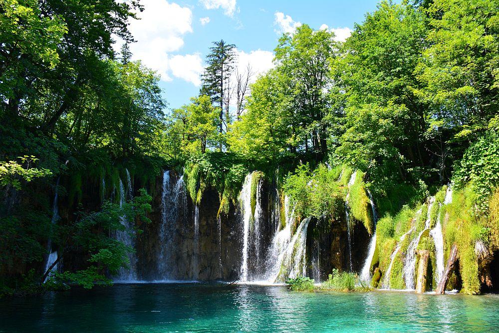mooie watervallen Kroatië
