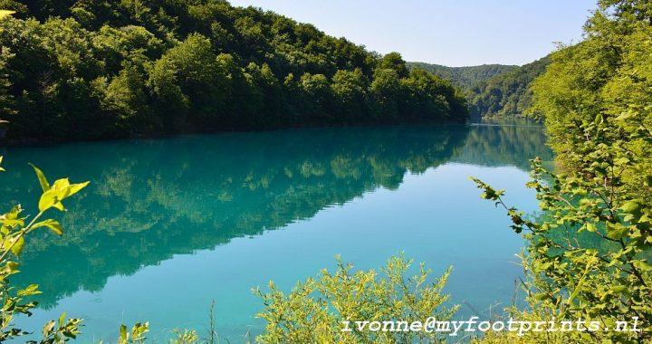 Plitvice meren National park Kroatië